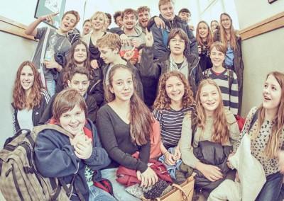 Bunt wie Musik, Sophie-Scholl-Schule, Berlin