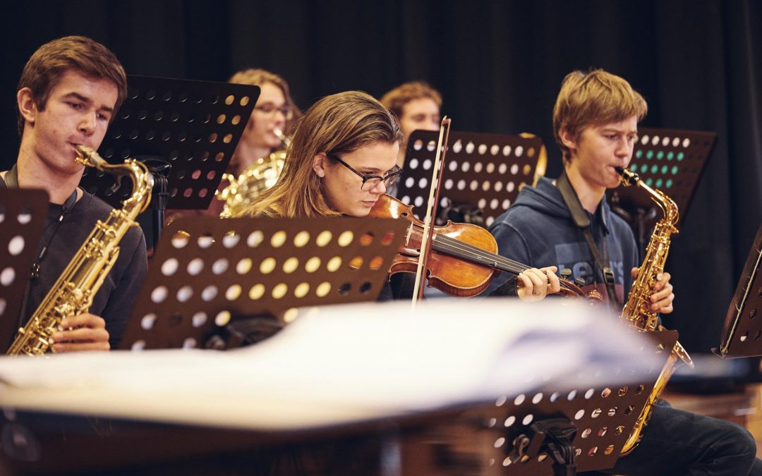 Clousiana Orchestra | Recording der Bigband